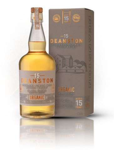 Deanston Highland Single Malt 15y. Organic 0,7 lt